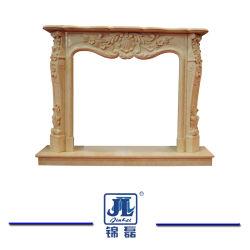 中国の自然な石造りの製品か製造者。 ホーム装飾のための大理石の暖炉のマントルピースの/Stoneの暖炉の大理石のマントルピースか石のマントルピースの暖炉