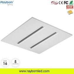 Antireflet 2X2 600x600mm LED du panneau d'éclairage de plafond encastré avec Ugr<16