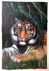Los detalles de alta cara de Tigre pintura al óleo para la Decoración de pared
