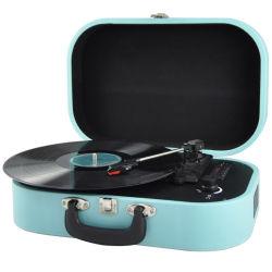 Rekordspieler, Koffer-Schwenktisch mit MultifunktionsBluetooth/FM Radio/USB und TF-Karten-Kanal/Vinyl zum Konverter MP3