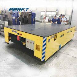 Большой стол под действием электропривода железнодорожных вагонов с плоским экраном электрического транспорта передачи тележки