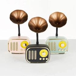 cadeau de promotion Retro Mini Caisson de basses sans fil Bluetooth Radio téléphone le président HS067