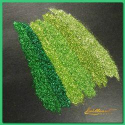 De groene Reeksen die schitteren Poeder voor Decoratie fonkelen