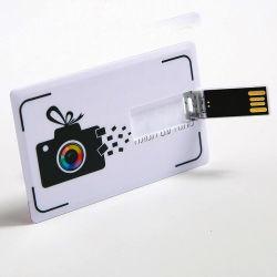 بطاقة ائتمان مجمعة محرك أقراص USB محمول، بطاقة بلاستيكية، بطاقة USB، محرك أقراص مزود بأفضل سعر