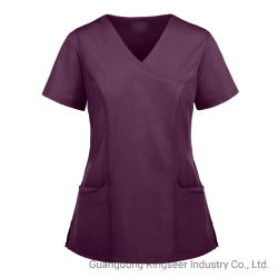 Custom Surgery Doctor Nurse Health Care Hospital Suit-scrubs Uniform voor het dragen van werkkleding Verpleegkleding Uniform Ksu005