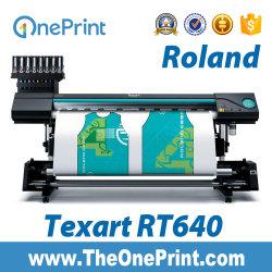 Impresora de inyección de tinta Roland Impresora de gran formato Roland Rt-640 Máquina de impresión de inyección de tinta impresora de transferencia Dye-Sublimation maquinaria de impresión la impresora de sublimación