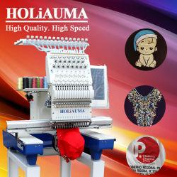 De in het groot Machines van het Borduurwerk Holiauma 1 Hoofd; Van het wiel van het Borduurwerk van de Machine van de Prijs het Enige van het Lovertje 3D Naaiende GLB Vlakke Borduurwerk van het Apparaat