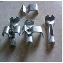 CE e fabbrica reale ISO9001 ad alta resistenza con migliore servizio che vernicia il morsetto dell'acciaio dolce utilizzato sulla grata del metallo