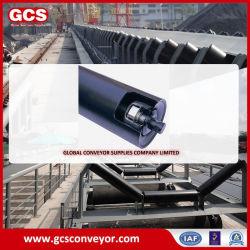 Rullo trasportatore di ritorno in acciaio/trasportatore a nastro per impieghi pesanti trasportatore a rulli/attività minerarie Tenditore rullo convogliatore a nastro