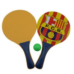 Рекламные деревянные Бич рэкет Bat с шаровым шарниром, деревянные Бич залом, пляжные Игры деревянные игрушки пляж ракетку с шаровым шарниром