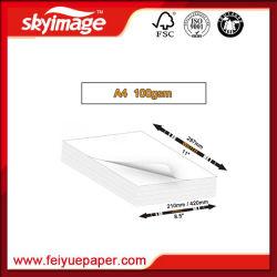 A4 Sublimation papier papier de transfert de chaleur pour T-Shirts/Mug de l'impression