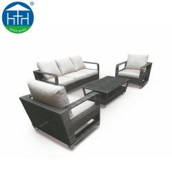 Commerce de gros oreillers à coussin d'un canapé-Set Outdoor meubles de patio canapé de plein air