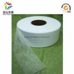 15-20 GSM através do Ar Quente Hidrófobo Nonwoven Fabric Es 100%, Super Branco, melhor uniformidade, Suavidade sensação táctil (A29)