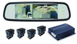 360車または背面図ミラーが付いている自動車ビュー・カメラ