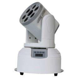 DMX van het Mini LEIDENE van de Controle 7PCS 10W RGBW 4in1 Licht het Bewegende HoofdStadium van de Was Lichte