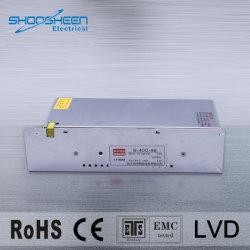 12V 24V 36V 48V AC/DC kompakte beiliegende 400W LED Schaltungs-Ein-Outputstromversorgung