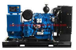 100kVA/80kw ouvert Groupe électrogène Diesel Powered by Weichai la puissance du moteur