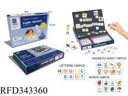 교육 장난감 영어 문자 3D Magnetic Puzzle Book Toy