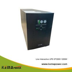 St2000 퓨어 사인 웨이브 라인 인터액티브 UPS 1200W(내부 배터리