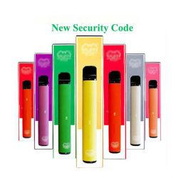 800 個入りディスポーザブル Vape ペンパフ + 3.2ml ポッドシステム 550mAh バッテリ E タバコ用気化器スターターキット(セキュリティバー付き) コード Vape ペン
