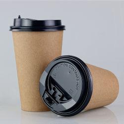 Desechables de papel Kraft de pared simple taza de agua, café té