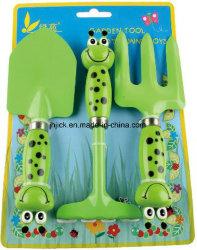 Dama o la mano de los niños conjunto de herramientas de jardín