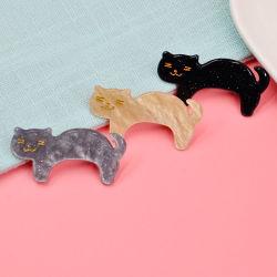 Korean Style Cat Hair Clip Acryl Hair Claw Hair Clip