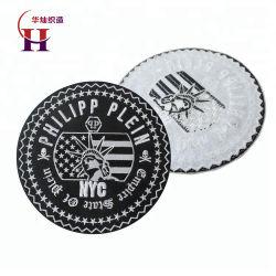 De hierro de alta calidad en el nombre personalizado bordado del logotipo para el uniforme militar, las prendas de vestir