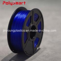Venta caliente plástico impresora 3D de 1,75mm PLA/ABS/Materiales de filamento PETG