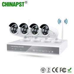 1,3 4CH Wireless WiFi NVR IP камеры CCTV комплект (PST - WIPK04BL)