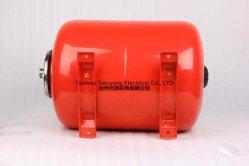 Drukvat van Tank van de Uitbreiding van 8 Liter de Horizontale