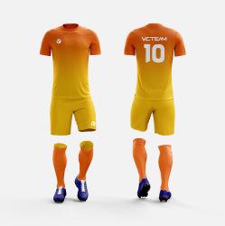 De poliéster transpirable jersey de fútbol de Formación de Jóvenes