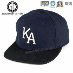 100%Acrylic新しく平らな縁時代の急な回復の帽子の野球帽の帽子