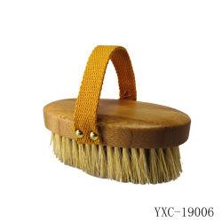 Escovas de limpeza de banho corporal, Pega de faia