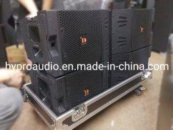 مصفوفة خطوط احترافية مزدوجة 10 بوصات Vtx V20 نظام الصوت الاحترافي الخاص بالسماعة