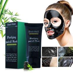 Schoonheidsmiddel van het Masker van de Klei van de Schoonheidsmiddelen van de Zorg van de Huid van het Masker van de Houtskool van het Bamboe van het anti het Verouderen Masker het Zwarte Diepe Reinigende Stabiliserende Zwarte