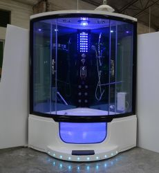 Vendita calda completa doccia cabina cabina Sala Massaggio vasca vapore Doccia (Y801B)