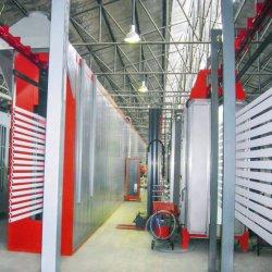 Revêtement en poudre Auto ligne de production de pulvérisation pour meubles en métal