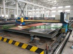 Berufs-CNC-Flamme-manuelles Blatt-metallschneidende Maschine