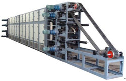 Four de séchage Chain-Type automatique utilisé pour la ligne de production d'électrode de soudure