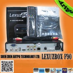 Lexuzbox F90 HD PVR HD receptor de televisión por cable para el mercado de Brasil (Lexuzbox F90)