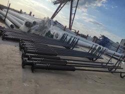 싱글/더블 암 12m 10m 8m 6개월 Galvanized Cast Aluminum Solar 거리 조명 폴