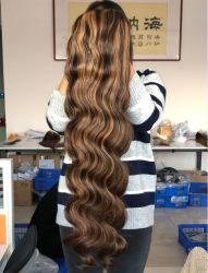 Солнечный свет Preplucked бразильский Remy оранжевый цвет Middle Part Wig