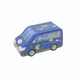 Zinnblech-Auto-Form-leerer Zinn-Süßigkeit-Plätzchen-Geschenk-Vorratsbehälter-Feiertags-dekorativer Kasten