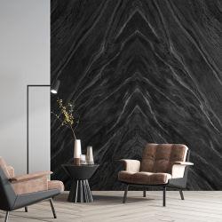 소결 스톤 럭셔리 골든 블랙 광택 자연 대리석 포첼린 빅 Slab Continuous Pattern Living Room Bedroom Hotel TV Wall Background 크기 절단 설계