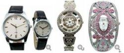 Diamant-Armband-Uhr, Jade-Eis Mechnical elektronische handgemachte Schweizer Quarz-Sport-Stahlform Wathches (BR185184) der Gestaltungsarbeits-LED Japan