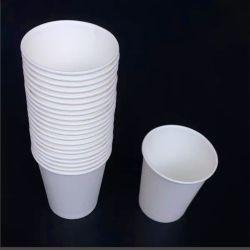 순수한 자연적인 목제 갱지 컵 또는 Eco-Friendly 또는 표백하지 않는 종이컵 또는 처분할 수 있는 가구 종이컵은 종이컵 사무용품 지급 음료 Pap를 매일 두껍게 했다