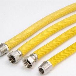 Edelstahl-gewölbter flexible Metall-Gasschlauch