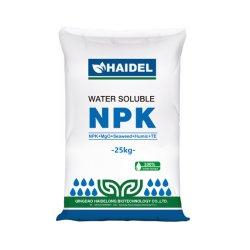Soluble en agua agrícola fertilizante NPK en polvo algas -húmicos ++MGO+Te