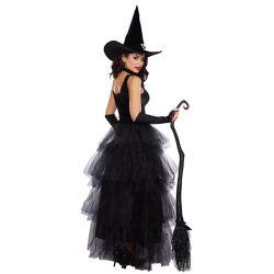Femelle adulte européenne sorcière Sexy Costumes d'Halloween
